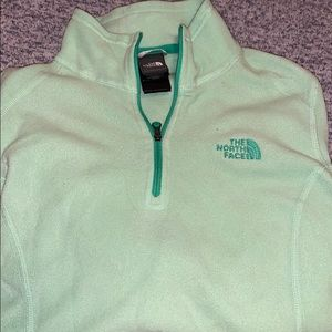 North Face 1/4 zip